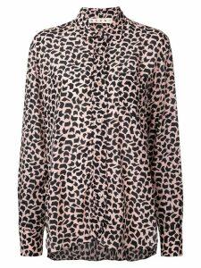 Marni geometric print blouse - Pink