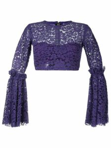 Bambah Bell crop top - PURPLE