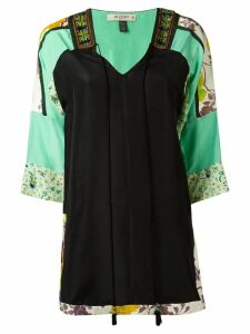 Etro three-quarters sleeve blouse - Black