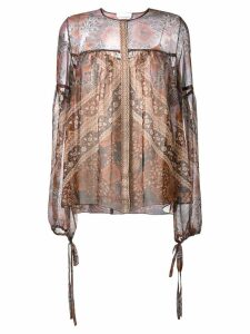 Chloé printed blouse - Multicolour