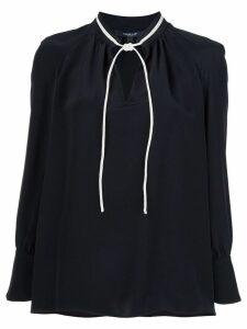 Derek Lam Sonia Long Sleeve Blouse - Black