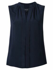 Derek Lam Kara sleeveless silk blouse - Blue