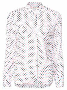 HVN polka dot blouse - Red