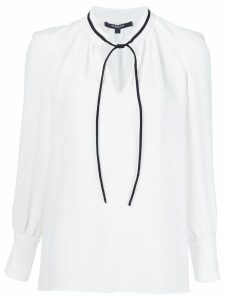 Derek Lam Sonia Long Sleeve Blouse - White