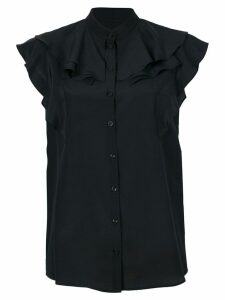 Givenchy frill-trim blouse - Black