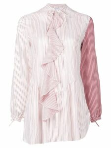 JW Anderson contrast sleeve shirt - PINK