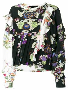 Isabel Marant floral printed Inny blouse - Multicolour