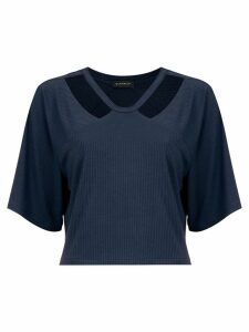 Olympiah Camino cropped top - Blue