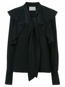 Jason Wu Collection bow tie ruffle blouse - Black