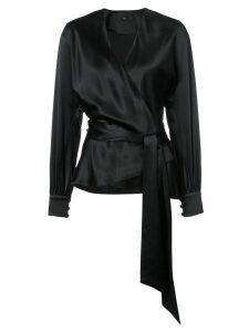 Voz Liquid blouse - Black
