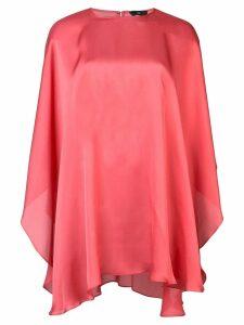 Voz Chiffon Capelet blouse - PINK