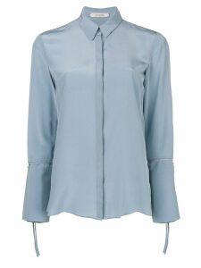 Dorothee Schumacher tie sleeve blouse - Blue