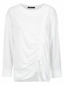 Uma Raquel Davidowicz Chef draped blouse - White