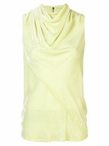 Rick Owens cowl neck blouse - Green