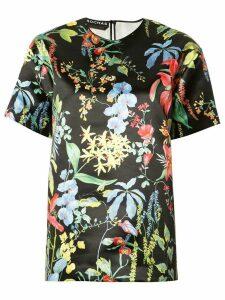 Rochas floral print blouse - Black