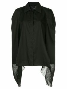 Ll By Litkovskaya Teddy Boy oversize blouse - Black