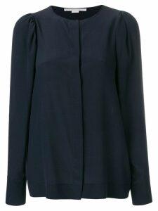 Stella McCartney gathered shoulder blouse - Blue
