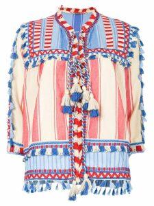Dodo Bar Or tassel detail blouse - Multicolour