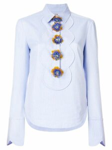 Talbot Runhof Paddy1 blouse - Blue