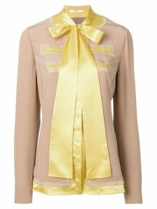 Givenchy bow tie top - Brown
