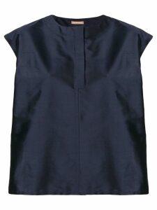 Nehera taffetta blouse - Blue