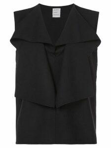 Maison Rabih Kayrouz ruffle blouse - Black
