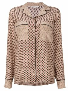 Stella McCartney pyjama inspired blouse - 2742