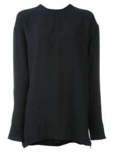 Marni drawstring neck blouse - Blue