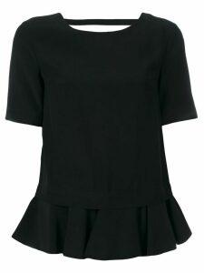 Dondup Adara peplum blouse - Black
