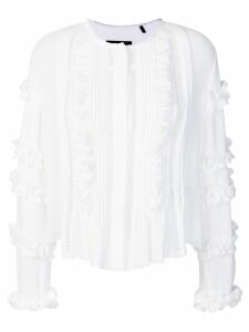 Isabel Marant Cosmos ruffled blouse - White