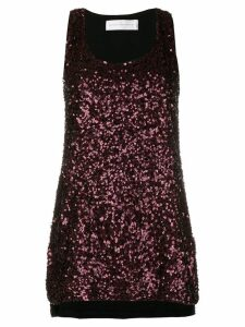 Victoria Victoria Beckham all over sequin blouse - Red