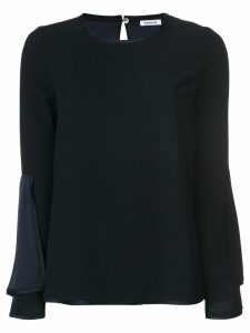 P.A.R.O.S.H. bell sleeved blouse - Blue