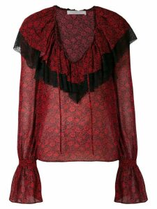 Philosophy Di Lorenzo Serafini floral printed blouse - Red