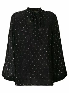 Saint Laurent polka dot blouse - Black
