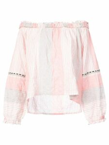 Lemlem Dera off shoulder blouse - PINK