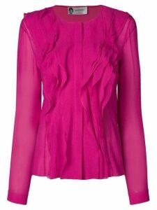 Lanvin ruffle detail blouse - Pink