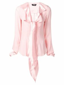 Calvin Klein 205W39nyc pussy bow blouse - PINK