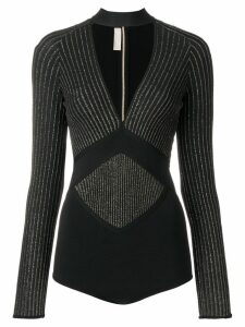 Elie Saab Thorn bodysuit - Black