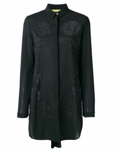 Versace Jeans Couture embellished shift blouse - Black