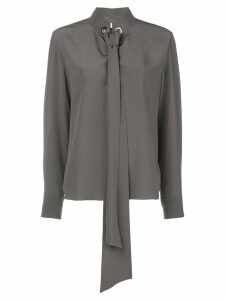 Chloé tie-neck blouse - Grey