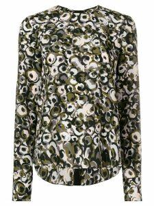 Marni Marken print blouse - Green