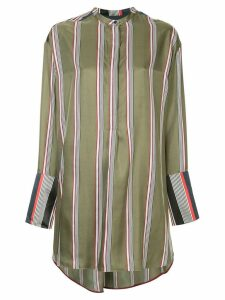 Roksanda striped loose blouse - Green
