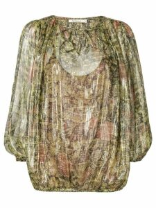 Mes Demoiselles floral print blouse - Green