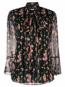 Blumarine floral blouse - Black