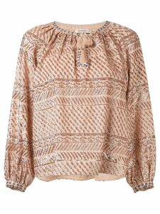 Manoush Turose embellished blouse - PINK