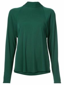 Rosetta Getty draped blouse - Green