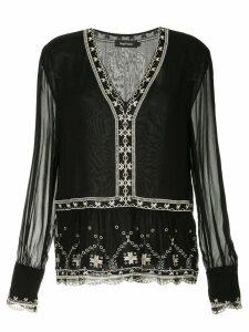 Magali Pascal bohemian blouse - Black