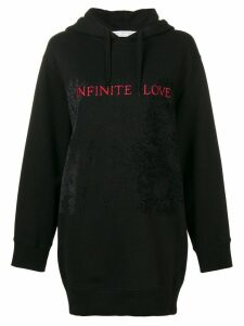 Philosophy Di Lorenzo Serafini Infinite Love long hoodie - Black