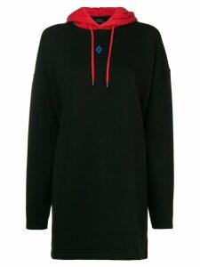 Marcelo Burlon County Of Milan Cupid print hoodie - Black