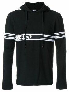 KTZ striped hoodie - Black